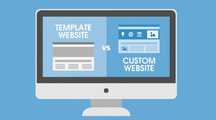 Custom Website Design or Website Templates