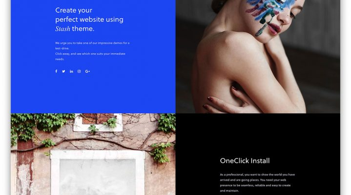 Create a Professional Website Using Pre-installed Templates